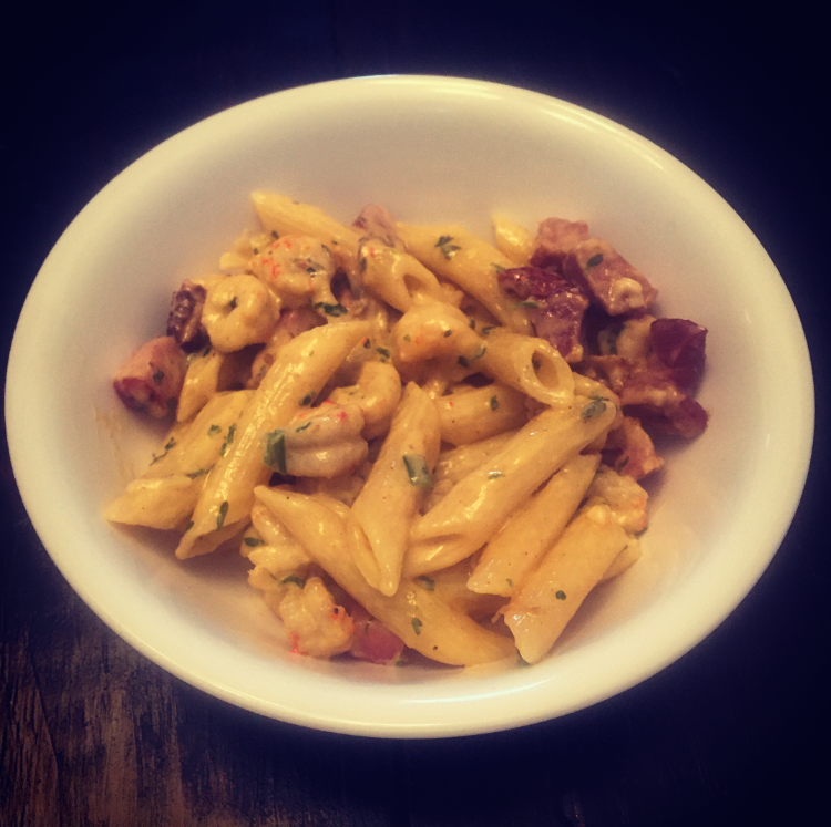 Cajun Crawfish & Tasso Pasta Recipe